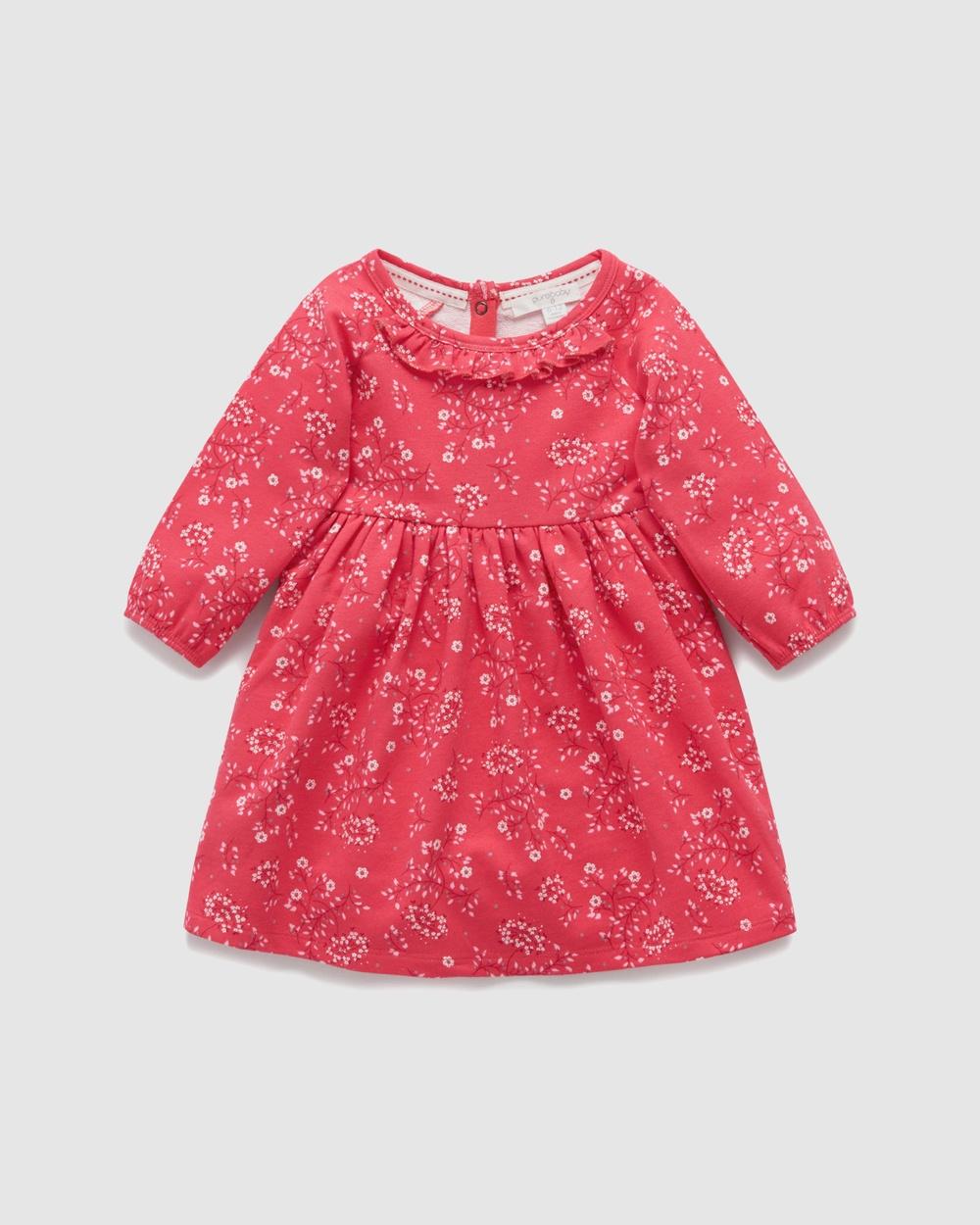 Purebaby Poppy Print Play Dress