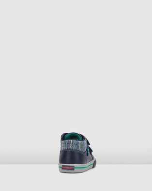 Pablosky Strap Boots Infant - Boots (Navy/Green)