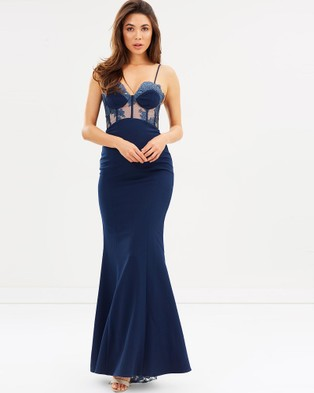 Love Honor – Empress Gown – Bridesmaid Dresses French Navy