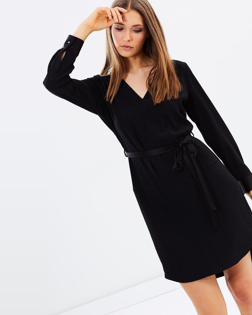 Farage Ingrid Dress Dresses Black Ingrid Dress
