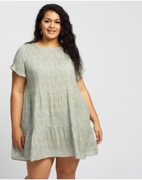 Atmos&Here Curvy - Susie Tiered Mini Dress