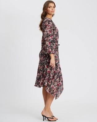 Tussah - Sabine Midi Dress - Printed Dresses (Harper Floral) Sabine Midi Dress