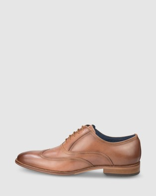 Florsheim Flex Wing - Dress Shoes (Cognac)