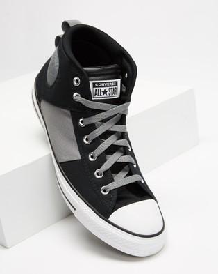 Converse Chuck Taylor CS Mid   Men's - Sneakers (Black, Mason & Black)