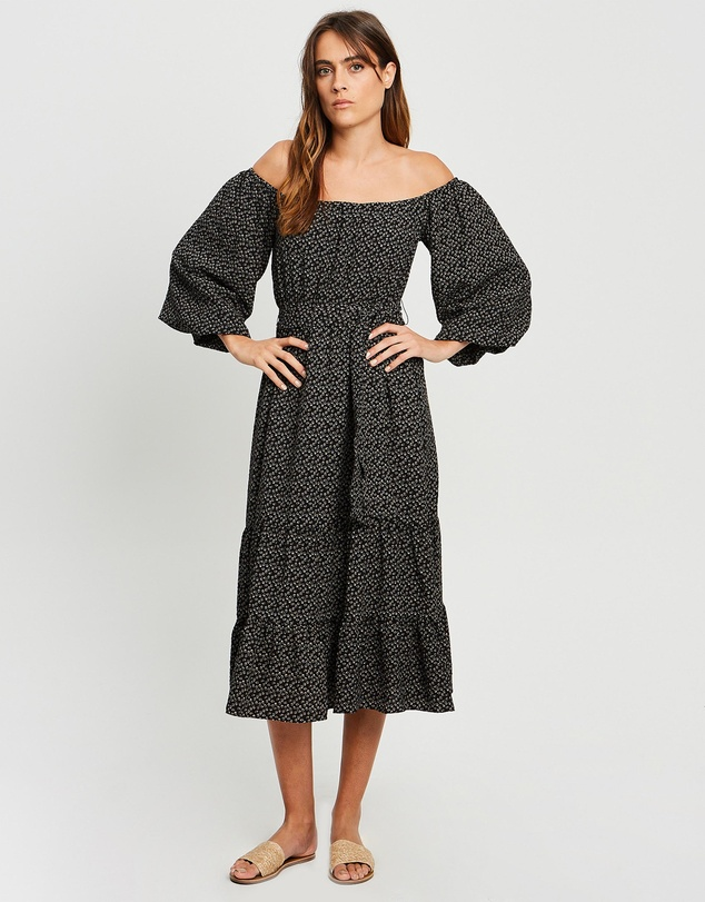 The Fated - Honnor Midi Dress