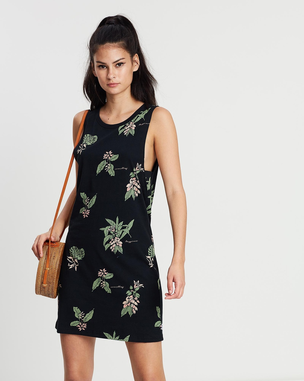 Mossimo Vintage Black Azalea Dress