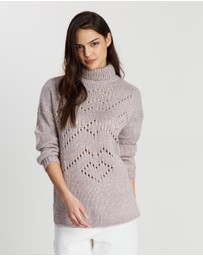 Rusty - Reckless Roll Neck Knit Jumper