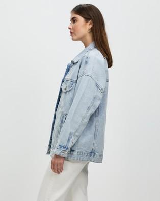 M.N.G - Seul Jacket - Denim jacket (Open Blue) Seul Jacket
