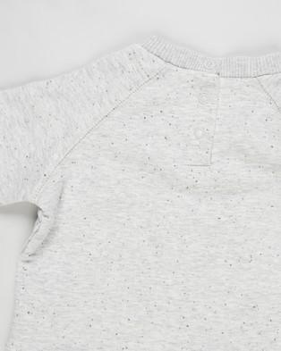 Cotton On Baby Harley & Tatum Tracksuit Babies Sweats Cloud Marle Rabbit Grey Nep