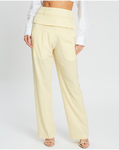 Christopher Esber - Double Belted Trousers