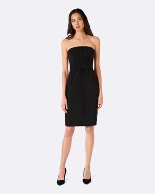Forever New – Tilly Corset Dress – Dresses (Black)