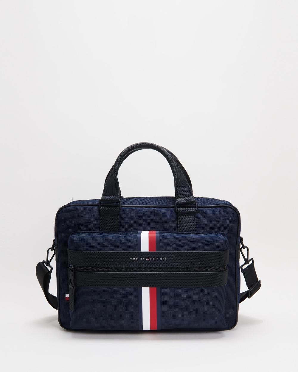 Tommy Hilfiger Elevated Nylon Computer Bag Bags Desert Sky Australia