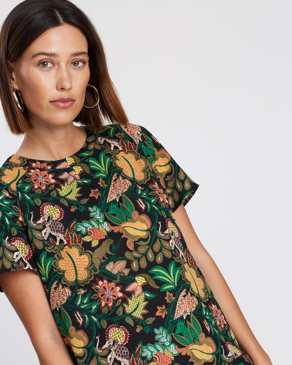 18581d76a9bf66 Ladder Insert Short Sleeve Shirt by Maison Scotch Online   THE ICONIC    Australia