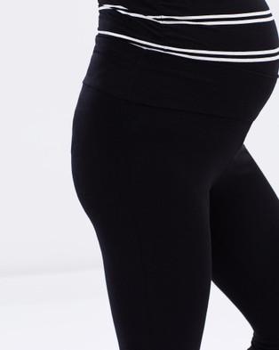 Bamboo Body Soft Bamboo Leggings - Pants (Black)