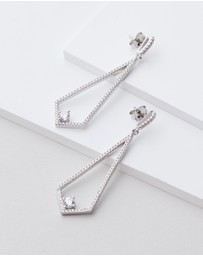 Michael Hill - Drop Earrings with Cubic Zirconia