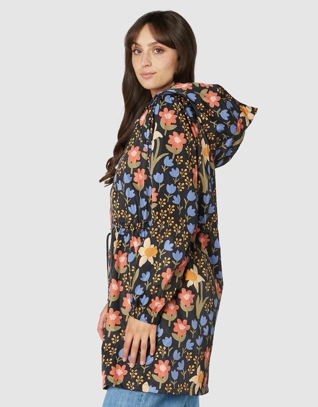 Women Winona Long Raincoat