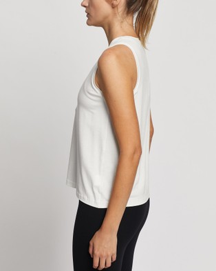 Brasilfit Olympia Muscle Tee - Muscle Tops (Off White)