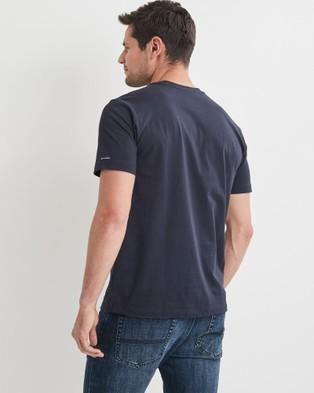Blazer - Classic Tee Short Sleeve T-Shirts (Navy)