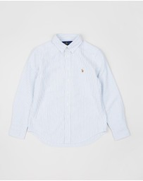 Polo Ralph Lauren - Oxford Stripe Shirt - Teens