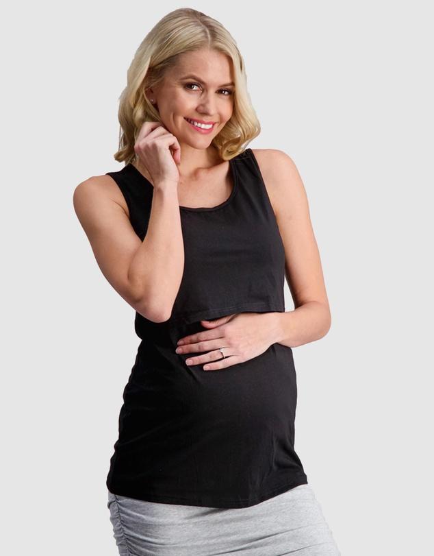 Women Essential Maternity & Nursing Tank Top