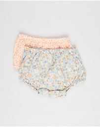 Cotton On Baby - 2-Pack Tia Woven Bloomers - Babies