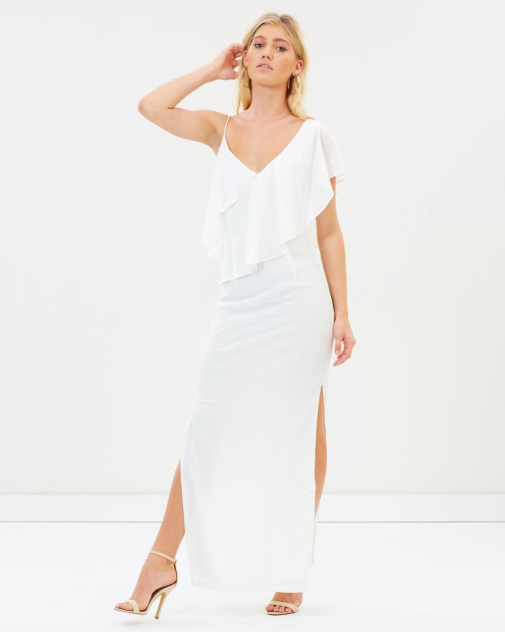 Winona Alfresco Maxi Dress Dresses White Alfresco Maxi Dress