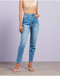 Missguided - Clean Riot Mom Jeans