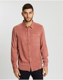 Staple Superior - Bryson LS Acid Wash Shirt