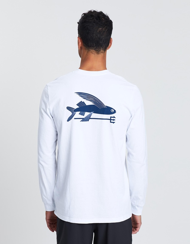 Patagonia - Men's LS Flying Fish Responsibili-Tee