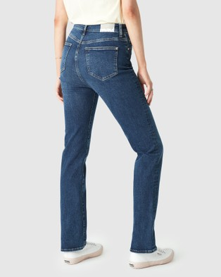 Mavi Veronica Jeans - Slim (Indigo Organic Blue )