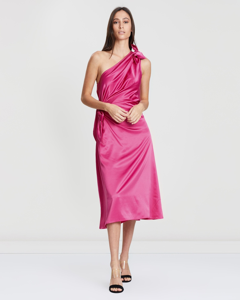 Gary Bigeni Hot Pink Taska Dress