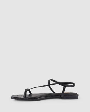 Siren Sahara Sandals Black