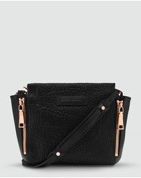 Status Anxiety - The Ascendants Cross Body Bag - Black Bubble/Rose Gold