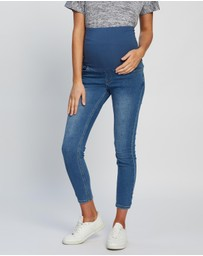 Cotton On Maternity - Maternity Super Stretch Over Belly Jeans