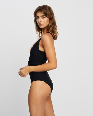 Faithfull The Brand - Delhi One Piece One-Piece / Swimsuit (Plain Black)