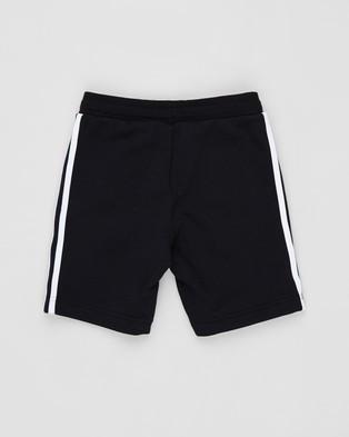 adidas Originals Fleece Shorts   Teens - Shorts (Black & White)