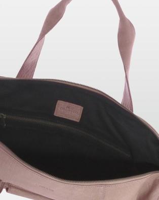 Cobb & Co Southport Soft Leather Duffle Bag - Duffle Bags (Blush)