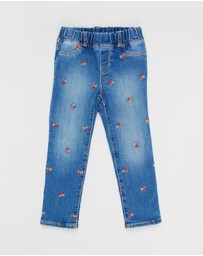 babyGap - Floral Embroidered Jeggings - Babies-Kids