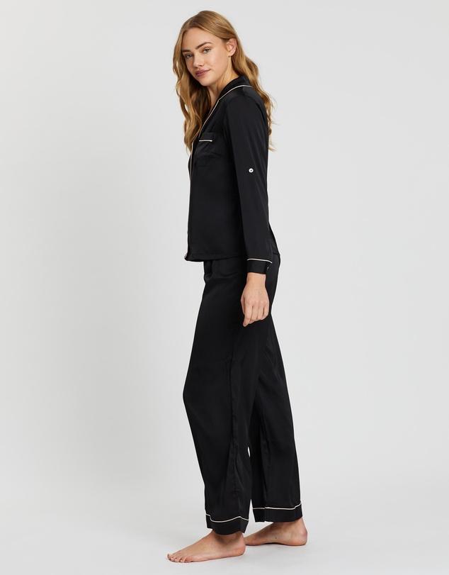 Women Sabrina Long Sleeve PJ Set