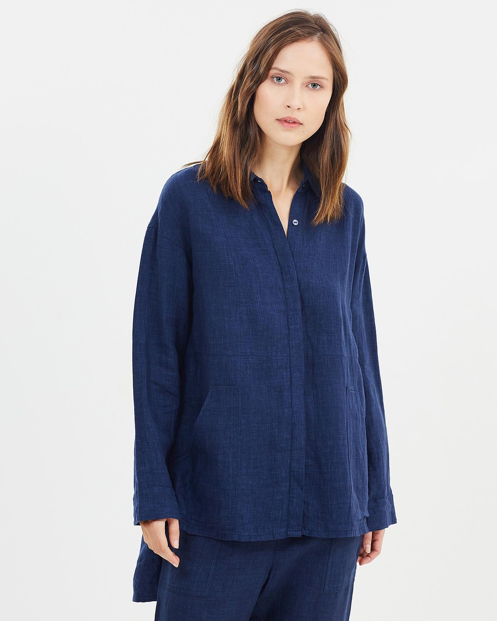 Morrison Bailey Shirt Tops Indigo Bailey Shirt