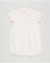 Polo Ralph Lauren - Polo Bubble One Piece Shortall - Babies