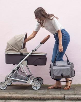 Babymel Jade Nappy Bag - Handbags (Grey)