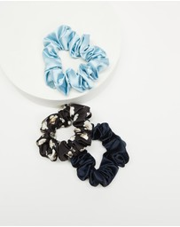Senso - Flora Scrunchie 3-Pack