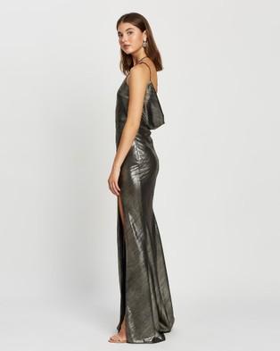 DERMA Arielle Dress - Dresses (Metallic)