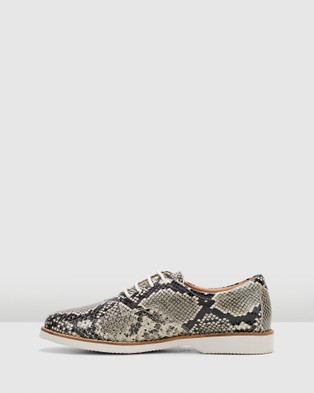 Hush Puppies Danae - Flats (Natural Snake)