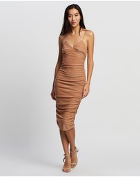 Third Form - Shimmer Triangle Midi Dress