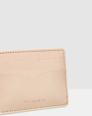 The Horse Flatboy Card Holder - Wallets (Neutral)