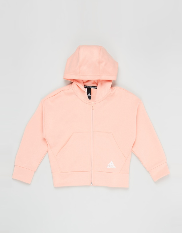 adidas Performance - Must Haves 3-Stripes Full-Zip Hoodie - Kids
