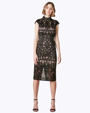 Rodeo Show – Harper Dress – Bodycon Dresses Black