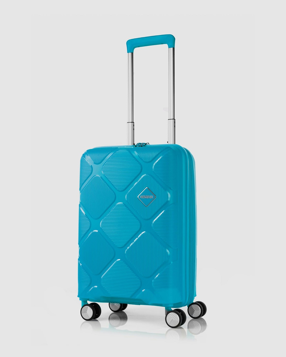 American Tourister Instagon Spinner 55 20 Travel and Luggage Turquoise 55-20